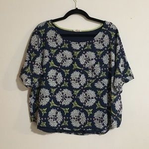 Meadow Rue | Anthropologie Floral Blouse Size LG